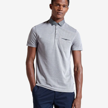 Ted Baker - Hoxtan Polo (Teal) *SUPER SOFT*