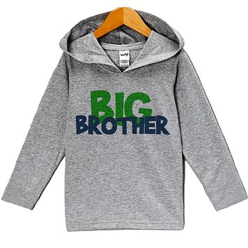 Custom Party Shop Baby Boy's Novelty Big Brother Hoodie Pullover