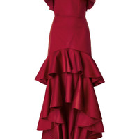 Zafina Ruffle Dress | Moda Operandi