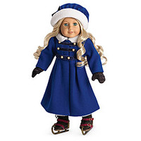 American Girl® Dolls: Caroline's Winter Coat & Ice Skating Set