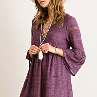 Purple Moon Dress