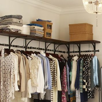 NEW YORK SHELF & CLOTHES RACK