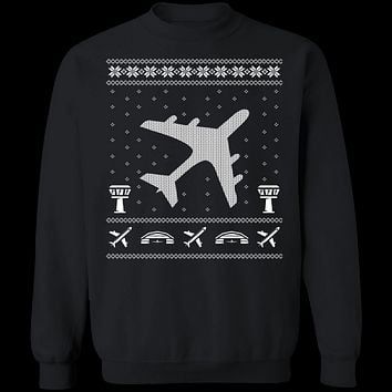 Aviation Ugly Christmas Sweater