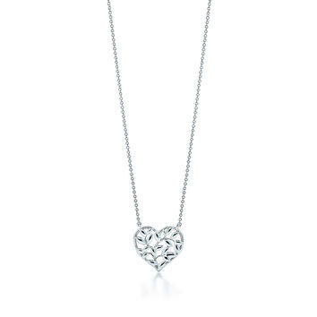 Tiffany & Co. - Paloma Picasso®:Olive Leaf Heart Pendant