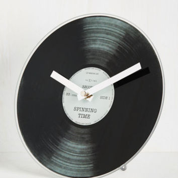 Think Outside the Bachs Clock | Mod Retro Vintage Wall Decor | ModCloth.com
