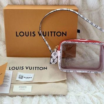 Louis Vuitton LV Transparent jelly bag