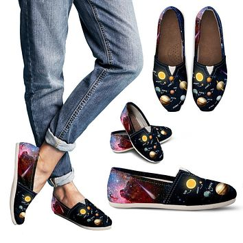 Solar System Diagram Casual Shoes-Clearance