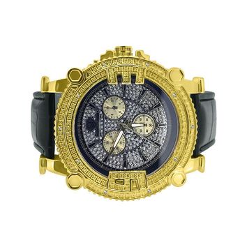 Super Techno Diamond Watch Chunky Style