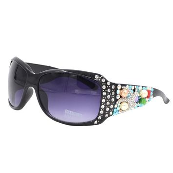 Ocean Themed Western Bling Sunglasses