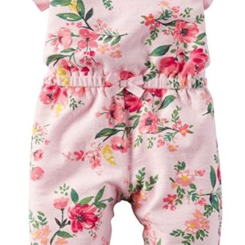 Baby Girls' French Terry Jumpsuit (Baby)