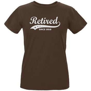 Retired Swoosh Stars Year 2018 Womens Organic T Shirt