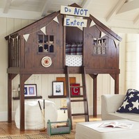Tree House Bed | Pottery Barn Kids