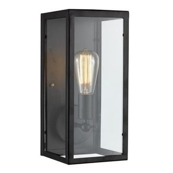 Light Sconce with Glass Casing - Bulb Included
