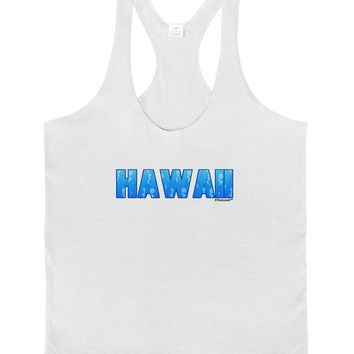 Hawaii Ocean Bubbles Mens String Tank Top by TooLoud