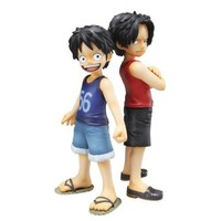 Excellent Model Portrait.Of.Pirates One Piece CB-EX Luffy & Ace bros (PVC figure) [JAPAN] by Megahouse