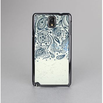 The Vintage Tan & Black Top Swirled Design Skin-Sert Case for the Samsung Galaxy Note 3