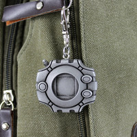 Digimon Digivice Aluminum Keychain/Necklace