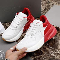 Alexander McQueen Coloured Broad Sports Shoes-6
