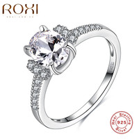 ROXI Brand 925 Sterling-silver-jewelry Ring For Women and Engagement