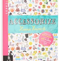 Girl's 'ArtCards: Accessorize' Book with Stickers