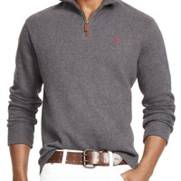 Polo Ralph Lauren French Rib Half-Zip Pullover | Bloomingdales's