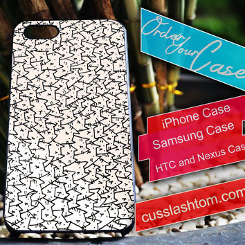 Exclusive Because cat iPhone for 4 5 5c 6 Plus Case, Samsung Galaxy for S3 S4 S5 Note 3 4 Case, iPod for 4 5 Case, HtC One M7 M8