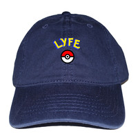 "Pokemon ""Poke Ball"" LYFE ""Dad"" Cap"
