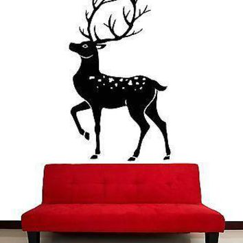 Wall Stickers Vinyl Decal Deer Hunting Hunter Animals Decor Unique Gift (z2073)