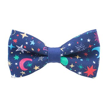 Bright Stars & Moon Bow Tie