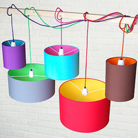 Pick N Mix Drum Lampshade