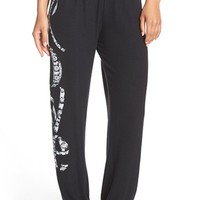 Women's Lauren Moshi 'Tanzy' Love Graphic Lounge Pants,
