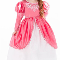 Little Adventures Mermaid Ball Gown Princess Dress (Age 1-3) with Hairbow