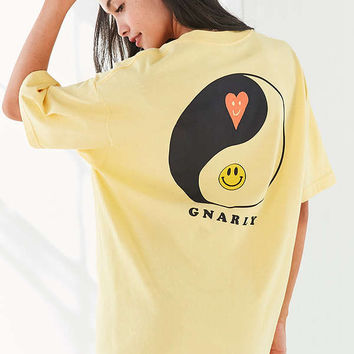 Gnarly Yin Yang Short Sleeve Tee | Urban Outfitters
