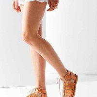 Honey Leather Gladiator Sandal
