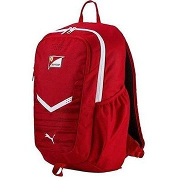 Puma Unisex Ferrari Replica Backpack, Red, OS