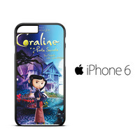 Coraline Nightmare X0133 iPhone 6 Case