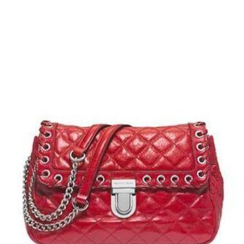 Michael Michael Kors Grommer Hippie Sloan Quilted Shoulder Bag