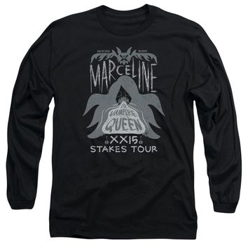 Adventure Time - Marceline Concert Long Sleeve Adult 18/1 Officially Licensed Shirt