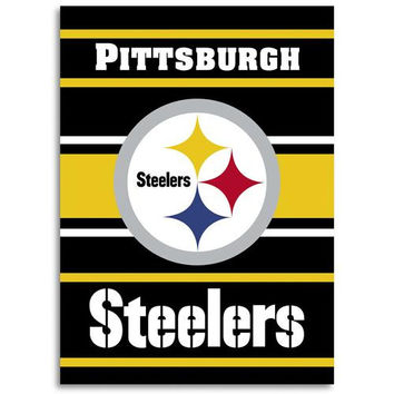 Pittsburgh Steelers NFL 2-Sided Banner (28 x 40)