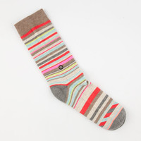 Stance Maxine Womens 200 Needle Socks Brown One Size For Women 24829640001