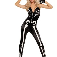 EM9594 Sexy Skeleton Costume - Elegant Moments