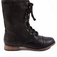 Love is a Battle Boot $47