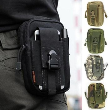 DCCK7N3 Outdoor Multifunctional Tactical Drop Oxford Cloth Bag Hiking Travel Tool Waist Pack Motorcycle Sports Ride Pack 5 Colors Newest