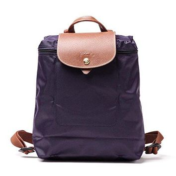 Longchamp Le Pilage Backpack bilberry purple