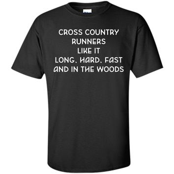 Cross Country Runners Like it Funny Crude T-shirt T-Shirt