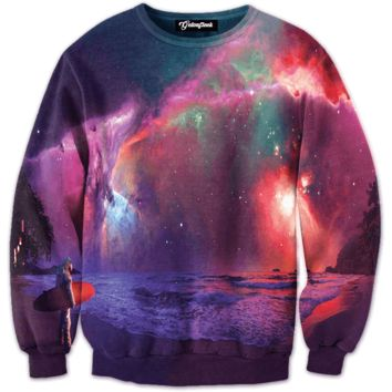Galaxy Beach Crewneck