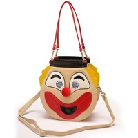 Amliya Smiley Bags Double Faced Clown Bag