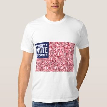 Election 2016: Every Vote Counts T-Shirt