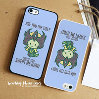 Nami League Of Valentines Word Art iPhone Case Cover for iPhone 6 6 Plus 5s 5 5c 4s 4 Case