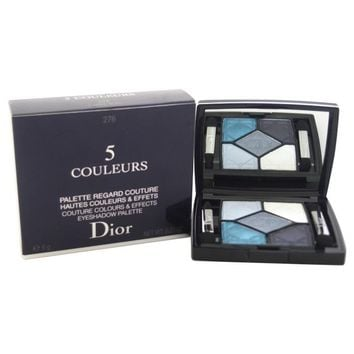 Dior 5 Couleurs Couture Colours & Effects Eyeshadow Palette # 276 Carre Bleu (Color: Blue)
